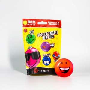 Smiley Halves Bag and Ball