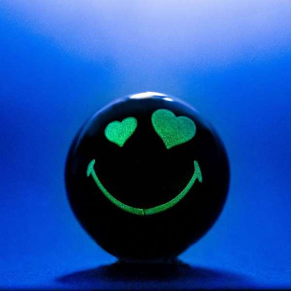 Glow in the Dark Legendary Smiley Halves
