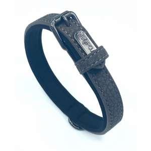 Black Vigorous Dog Collar
