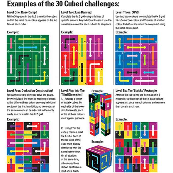 examples of 30 cubed challenges