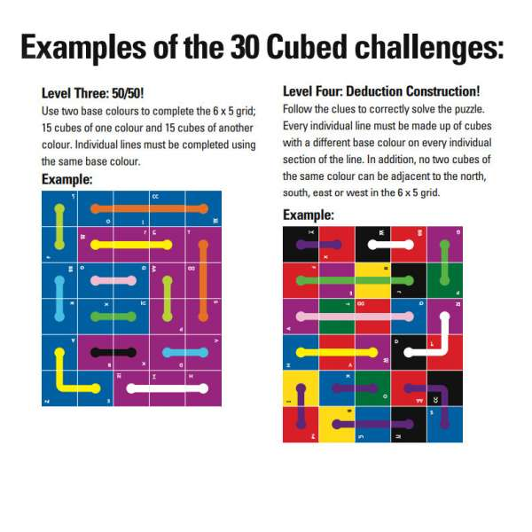 30 cubed challenges