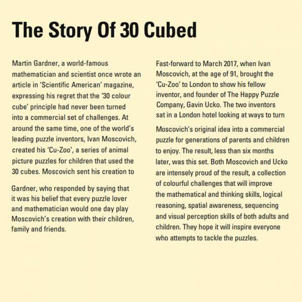 the story of 30 cubed