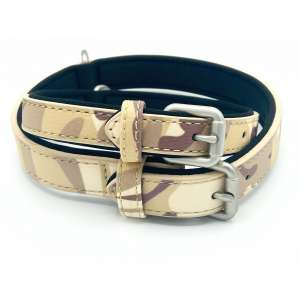Army camo dog collar