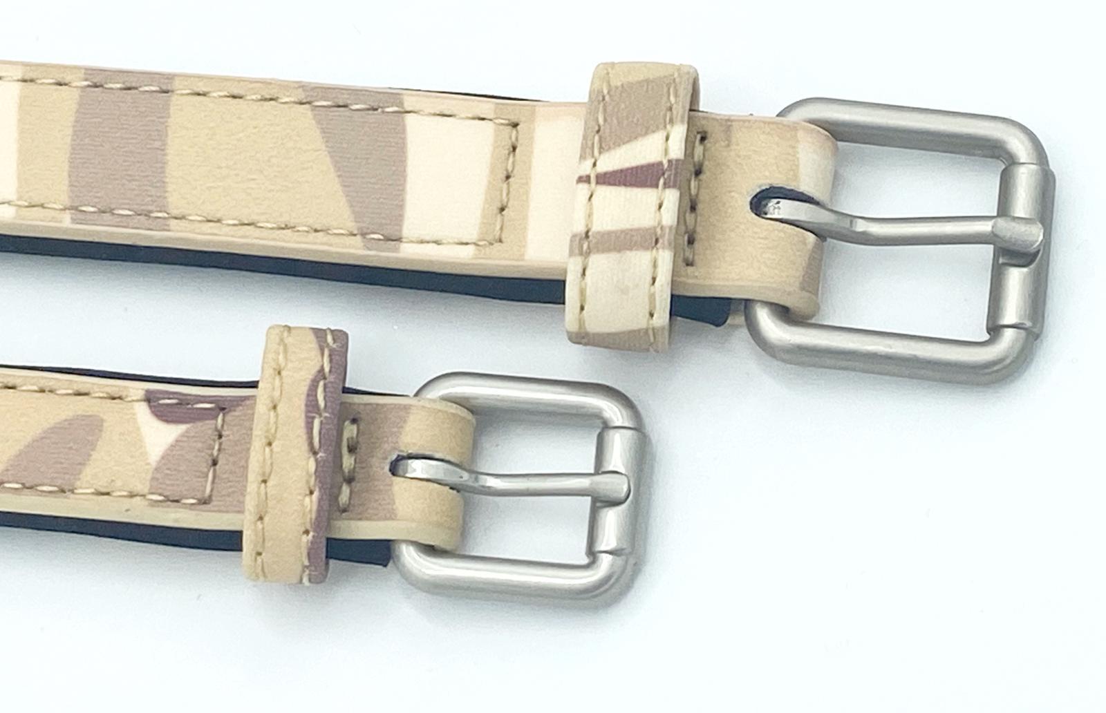 Army camo dog collar buckles