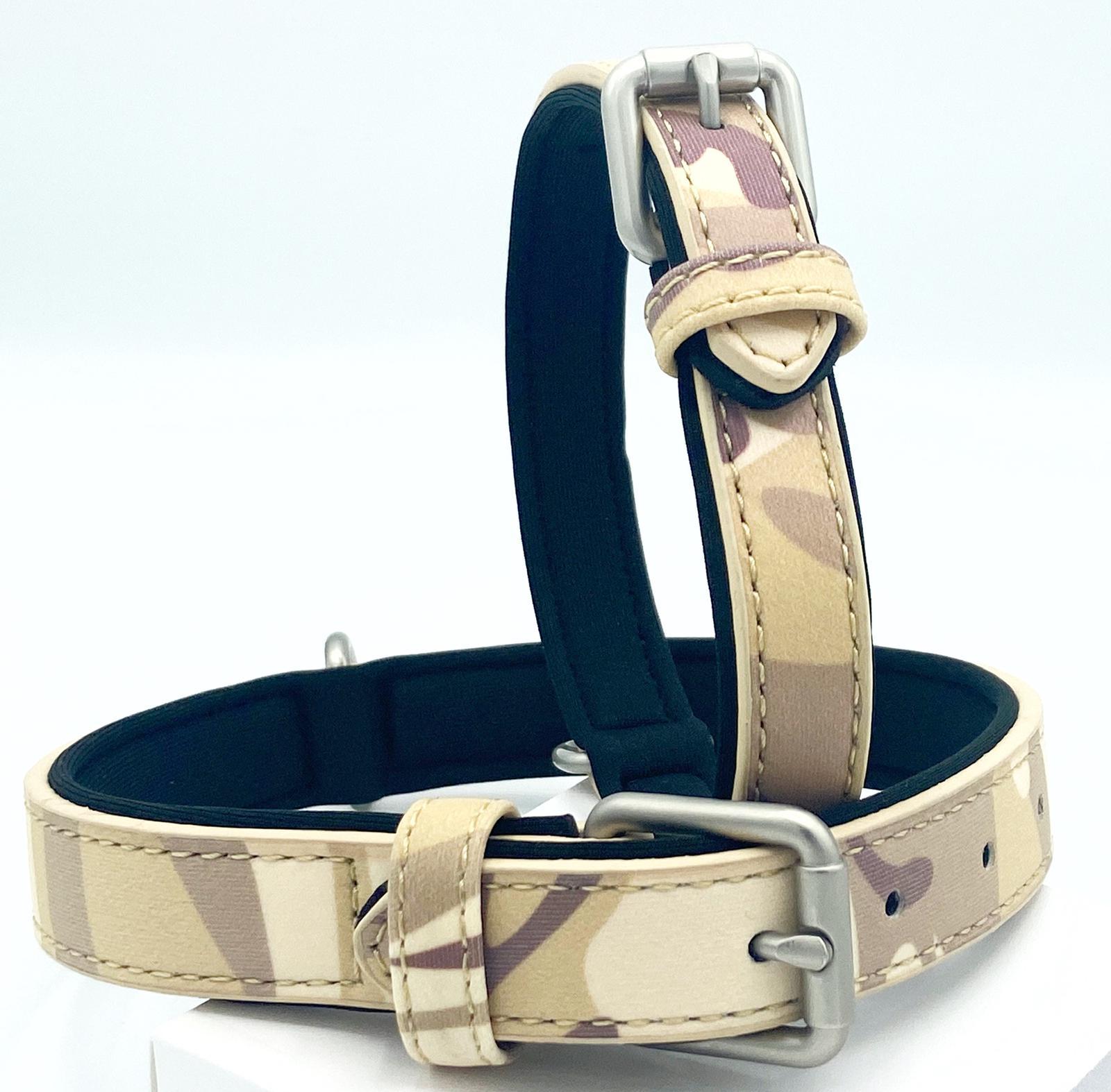 Army camo dog collars