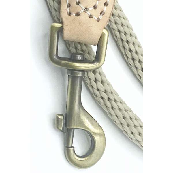 Clip of a rope dog lead